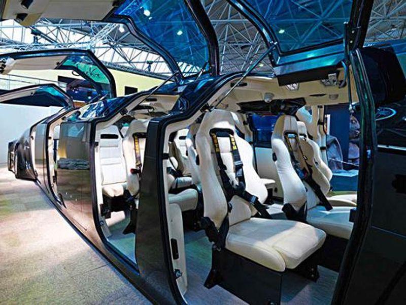 самый роскошный автобус в мире