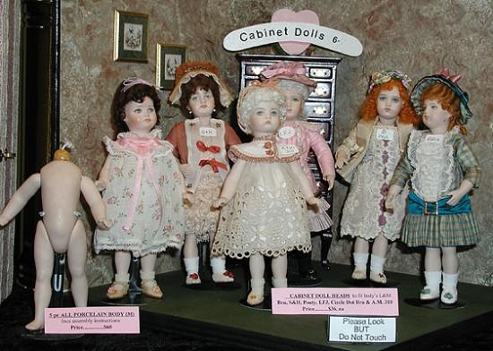История маленьких кукол — mignonette