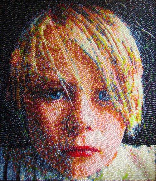Картины и портреты из леденцов: www.funpress.ru/art/553-kartiny-i-portrety-iz-ledencov.html