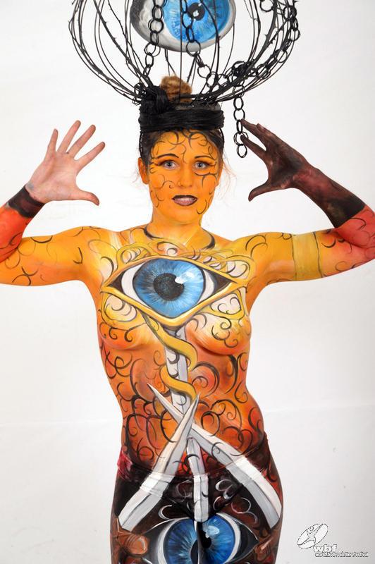 Всемирный фестиваль боди арта