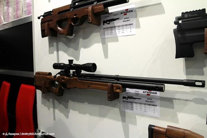 Оружие, представленное на