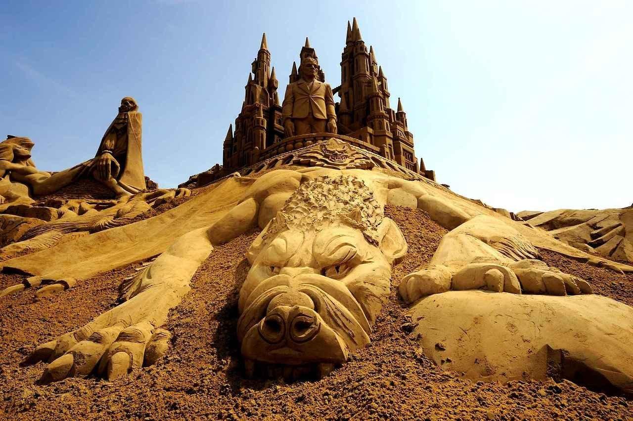 Фестиваль песчаной скульптуры в бланкенберге