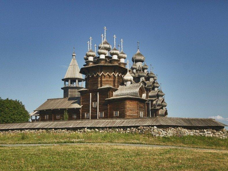 Фото деревянных церквей