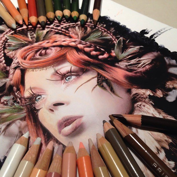 цветные рисунки: