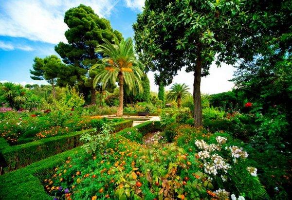 Park Alhambra, Granada, Hiszpania