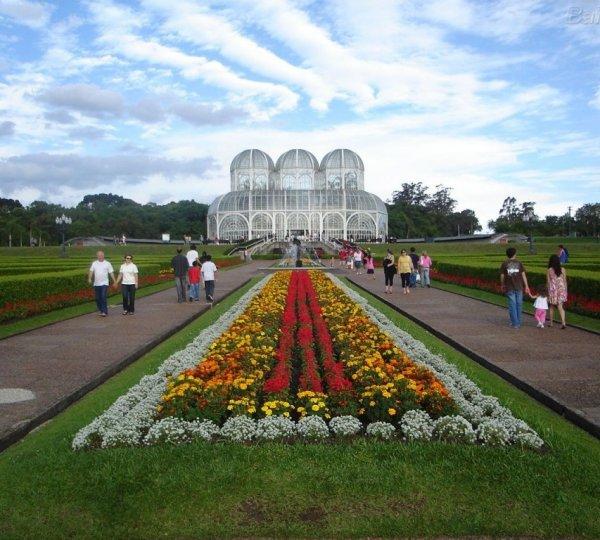 Ogród botaniczny Jardim Botânico de Curitiba, Brazylia