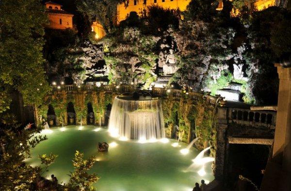 Ogród Villa d'Este, Tivoli, Włochy