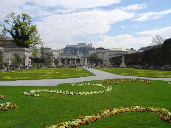 Ogród Mirabell, Salzburg, Austria