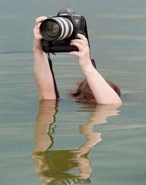 Фотографом быть непросто (34 фото)