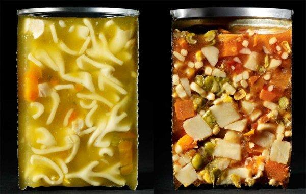 Еда в разрезе (12 фото)