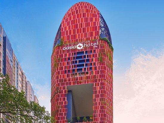 В Сингапре отельный комплекс будет располагаться в «пушистой» башне