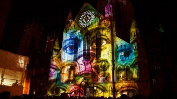На фасадной части барнаульского храма продемонстрируют необычное световое шоу