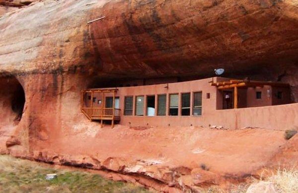 На аукцион выставлен уникальный дом в пещере