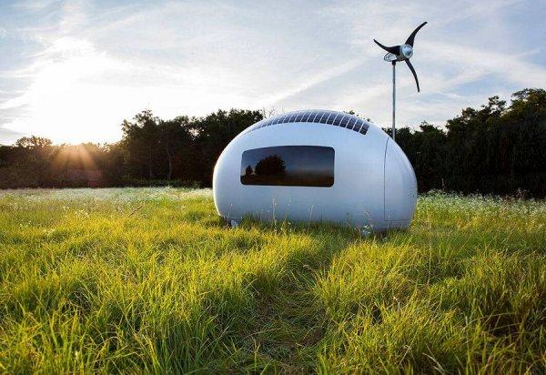 Инженеры из Словакии представили дома будущего - экокапсулы