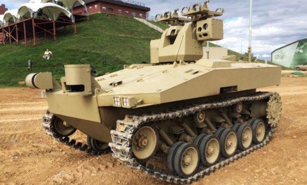 Компания «Калашников» занимается разработкой инновационных боевых роботов