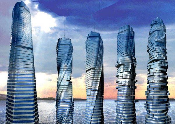 В Дубае построят первый вращающийся небоскрёб
