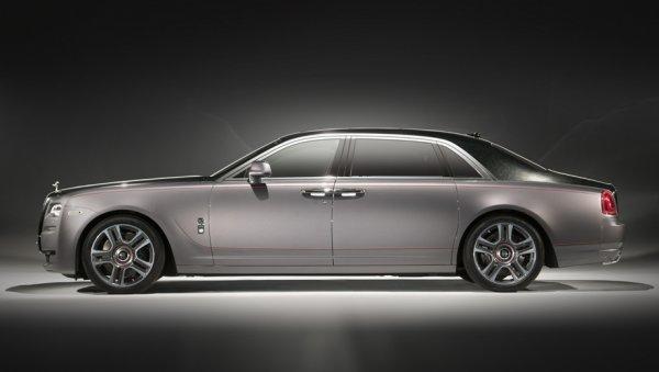 Седан Rolls-Royce будет блистать красками из алмазов
