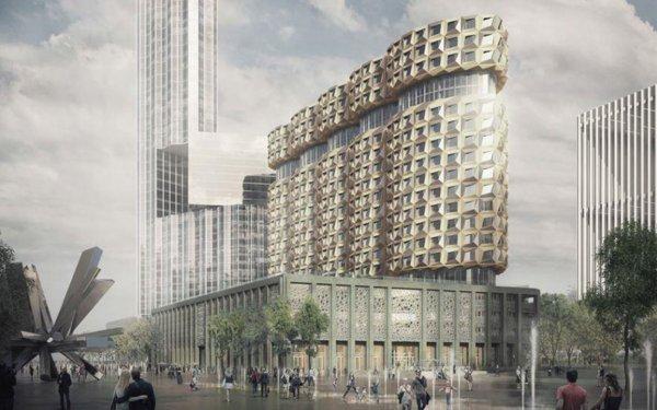 На территории ЗИЛА утвердили проектную документацию постройки с пятью башнями